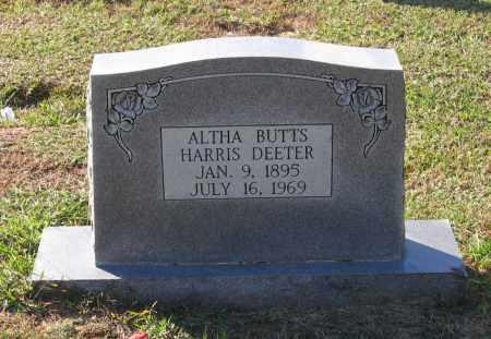 BUTTS HARRIS, ALTHA - Lawrence County, Arkansas | ALTHA BUTTS HARRIS - Arkansas Gravestone Photos