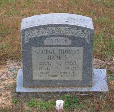 HARRIS, GEORGE THOMAS - Lawrence County, Arkansas   GEORGE THOMAS HARRIS - Arkansas Gravestone Photos