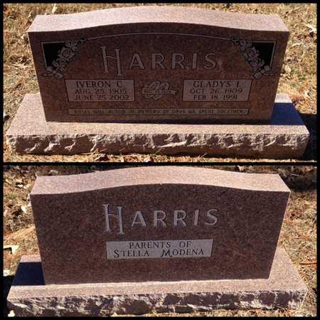 HARRIS, GLADYS IOLA - Lawrence County, Arkansas | GLADYS IOLA HARRIS - Arkansas Gravestone Photos