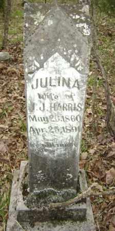 WARD HARRIS, JULINA A. - Lawrence County, Arkansas | JULINA A. WARD HARRIS - Arkansas Gravestone Photos