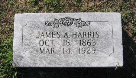 HARRIS, JAMES A. - Lawrence County, Arkansas | JAMES A. HARRIS - Arkansas Gravestone Photos