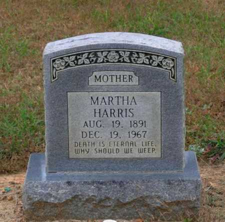 HARRIS, MARTHA - Lawrence County, Arkansas   MARTHA HARRIS - Arkansas Gravestone Photos