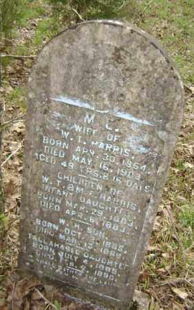 HARRIS, INFANT DAUGHTER - Lawrence County, Arkansas | INFANT DAUGHTER HARRIS - Arkansas Gravestone Photos