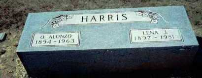 HARRIS, OLIVER ALONZO - Lawrence County, Arkansas | OLIVER ALONZO HARRIS - Arkansas Gravestone Photos