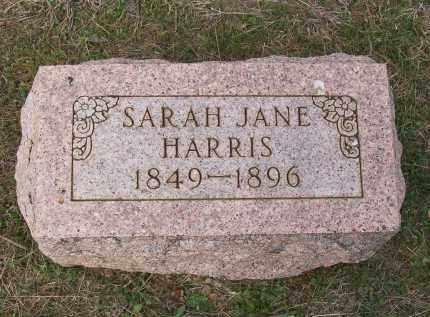 HARRIS, SARAH JANE - Lawrence County, Arkansas   SARAH JANE HARRIS - Arkansas Gravestone Photos