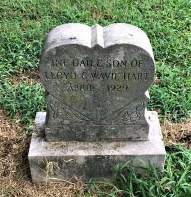 HART, INFANT DAUGHTER - Lawrence County, Arkansas | INFANT DAUGHTER HART - Arkansas Gravestone Photos