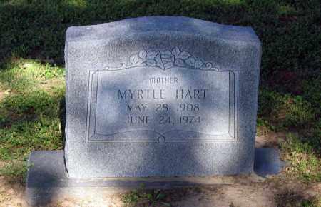 HART, MYRTLE LORENE - Lawrence County, Arkansas | MYRTLE LORENE HART - Arkansas Gravestone Photos