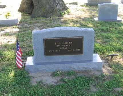 HART (VETERAN KOR), BILL JOHN - Lawrence County, Arkansas   BILL JOHN HART (VETERAN KOR) - Arkansas Gravestone Photos