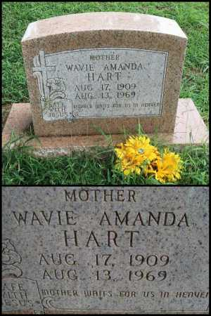 HART, WAVIE AMANDA - Lawrence County, Arkansas | WAVIE AMANDA HART - Arkansas Gravestone Photos