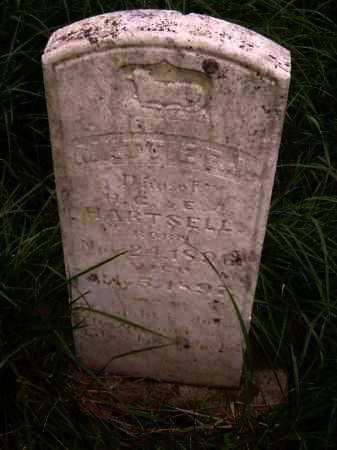 HARTSELL, MATTIE F. J. - Lawrence County, Arkansas | MATTIE F. J. HARTSELL - Arkansas Gravestone Photos
