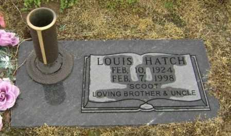 "HATCH, LOUIS ""SCOOT"" - Lawrence County, Arkansas | LOUIS ""SCOOT"" HATCH - Arkansas Gravestone Photos"