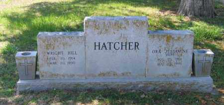 HATCHER, WRIGHT HILL - Lawrence County, Arkansas | WRIGHT HILL HATCHER - Arkansas Gravestone Photos
