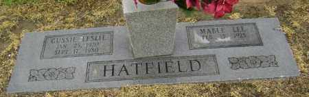 HATFIELD, GUSSIE LESLIE - Lawrence County, Arkansas | GUSSIE LESLIE HATFIELD - Arkansas Gravestone Photos