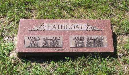 HATHCOAT, JOHN WILLARD - Lawrence County, Arkansas   JOHN WILLARD HATHCOAT - Arkansas Gravestone Photos