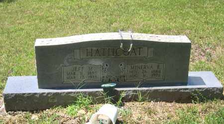 "HATHCOAT, JEFFERSON MARION ""JEFF M."" - Lawrence County, Arkansas | JEFFERSON MARION ""JEFF M."" HATHCOAT - Arkansas Gravestone Photos"