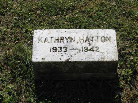 HATTON, KATHRYN - Lawrence County, Arkansas | KATHRYN HATTON - Arkansas Gravestone Photos