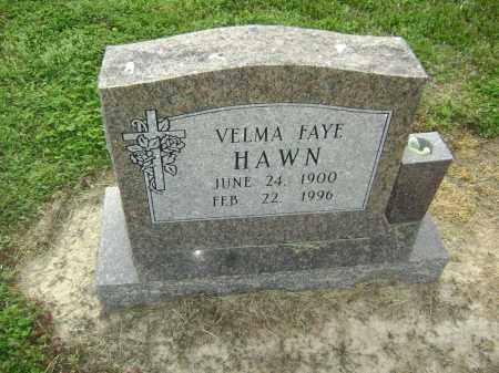 HAWN, VELMA FAYE - Lawrence County, Arkansas | VELMA FAYE HAWN - Arkansas Gravestone Photos