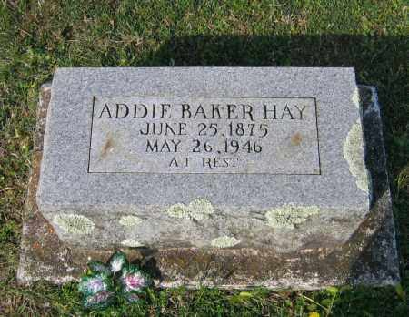 HAY, ADDIE - Lawrence County, Arkansas | ADDIE HAY - Arkansas Gravestone Photos