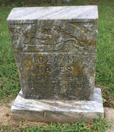 HAYES, LOLA M. - Lawrence County, Arkansas | LOLA M. HAYES - Arkansas Gravestone Photos