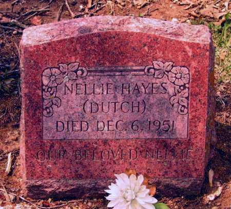 """HAYES, NELLIE """"DUTCH"""" - Lawrence County, Arkansas 