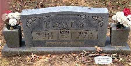 HAYES, OLENE A. - Lawrence County, Arkansas | OLENE A. HAYES - Arkansas Gravestone Photos