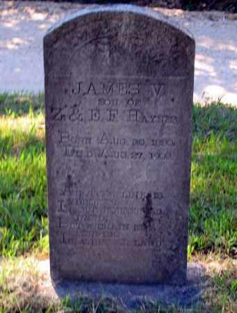 HAYNES, JAMES V. - Lawrence County, Arkansas | JAMES V. HAYNES - Arkansas Gravestone Photos