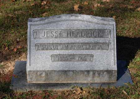 HEADRICK, JESSE G. - Lawrence County, Arkansas | JESSE G. HEADRICK - Arkansas Gravestone Photos