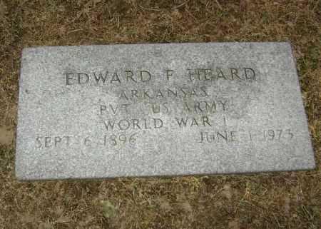 HEARD  (VETERAN WWI), EDWARD FRANKLIN - Lawrence County, Arkansas   EDWARD FRANKLIN HEARD  (VETERAN WWI) - Arkansas Gravestone Photos