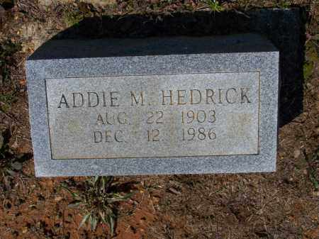 UNDERWOOD HEDRICK, ADDIE MAY - Lawrence County, Arkansas | ADDIE MAY UNDERWOOD HEDRICK - Arkansas Gravestone Photos