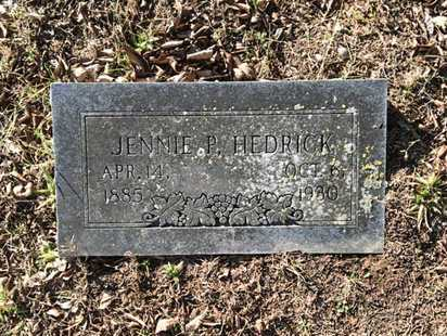 MCLAUGHLIN HEDRICK, JENNIE PEARL - Lawrence County, Arkansas | JENNIE PEARL MCLAUGHLIN HEDRICK - Arkansas Gravestone Photos