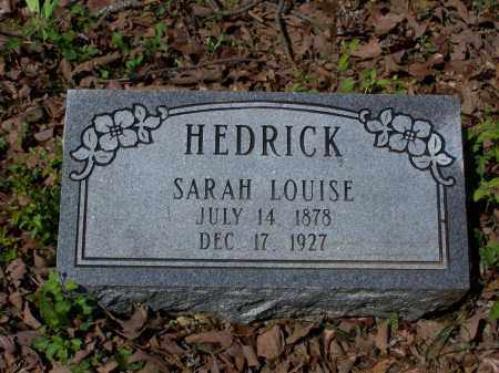 BROWN HEDRICK, SARAH LOUISE - Lawrence County, Arkansas | SARAH LOUISE BROWN HEDRICK - Arkansas Gravestone Photos