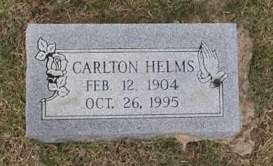 HELMS, CARLTON - Lawrence County, Arkansas   CARLTON HELMS - Arkansas Gravestone Photos