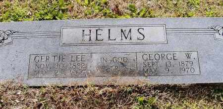 LEE HELMS, GERTRUDE GRACE - Lawrence County, Arkansas | GERTRUDE GRACE LEE HELMS - Arkansas Gravestone Photos