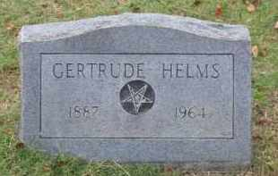 FOOKS HELMS, GERTRUDE - Lawrence County, Arkansas | GERTRUDE FOOKS HELMS - Arkansas Gravestone Photos