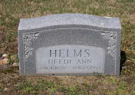 "HELMS, HENRYETTA ANN DAVIS GOAD ""NETTIE"" - Lawrence County, Arkansas | HENRYETTA ANN DAVIS GOAD ""NETTIE"" HELMS - Arkansas Gravestone Photos"