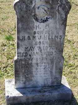 "HELMS, HIRAM E. ""H. E."" - Lawrence County, Arkansas | HIRAM E. ""H. E."" HELMS - Arkansas Gravestone Photos"