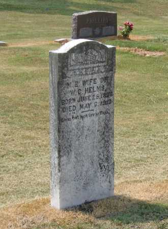 HELMS, MARTHA ELLEN - Lawrence County, Arkansas | MARTHA ELLEN HELMS - Arkansas Gravestone Photos