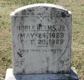HELMS, JR., NOBLE RECTOR - Lawrence County, Arkansas | NOBLE RECTOR HELMS, JR. - Arkansas Gravestone Photos