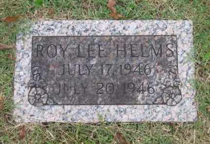 HELMS, ROY LEE - Lawrence County, Arkansas | ROY LEE HELMS - Arkansas Gravestone Photos