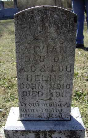 HELMS, VIVIAN - Lawrence County, Arkansas | VIVIAN HELMS - Arkansas Gravestone Photos
