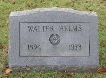 HELMS, WALTER CLEVELAND - Lawrence County, Arkansas | WALTER CLEVELAND HELMS - Arkansas Gravestone Photos