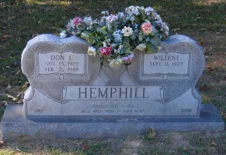 "HEMPHILL, DONALD LEE ""DON"" - Lawrence County, Arkansas | DONALD LEE ""DON"" HEMPHILL - Arkansas Gravestone Photos"