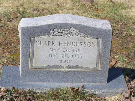 HENDERSON, CLARK - Lawrence County, Arkansas | CLARK HENDERSON - Arkansas Gravestone Photos