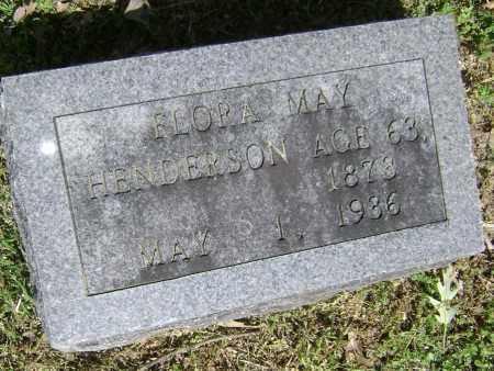 HENDERSON, FLORA MAY - Lawrence County, Arkansas   FLORA MAY HENDERSON - Arkansas Gravestone Photos