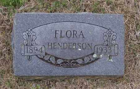 HENDERSON, FLORA - Lawrence County, Arkansas | FLORA HENDERSON - Arkansas Gravestone Photos