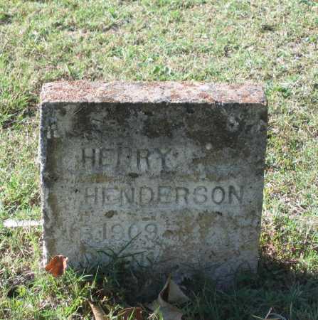 HENDERSON, HENRY - Lawrence County, Arkansas | HENRY HENDERSON - Arkansas Gravestone Photos