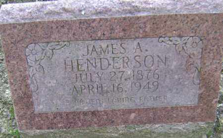 HENDERSON, JAMES A. - Lawrence County, Arkansas | JAMES A. HENDERSON - Arkansas Gravestone Photos