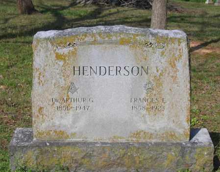 HENDERSON, FRANCES E. - Lawrence County, Arkansas | FRANCES E. HENDERSON - Arkansas Gravestone Photos