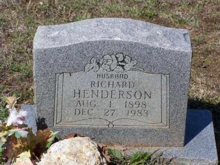 HENDERSON, RICHARD - Lawrence County, Arkansas   RICHARD HENDERSON - Arkansas Gravestone Photos