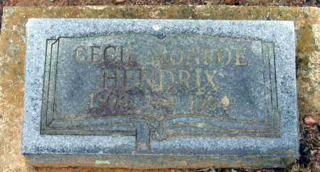 HENDRIX, CECIL MONROE - Lawrence County, Arkansas | CECIL MONROE HENDRIX - Arkansas Gravestone Photos